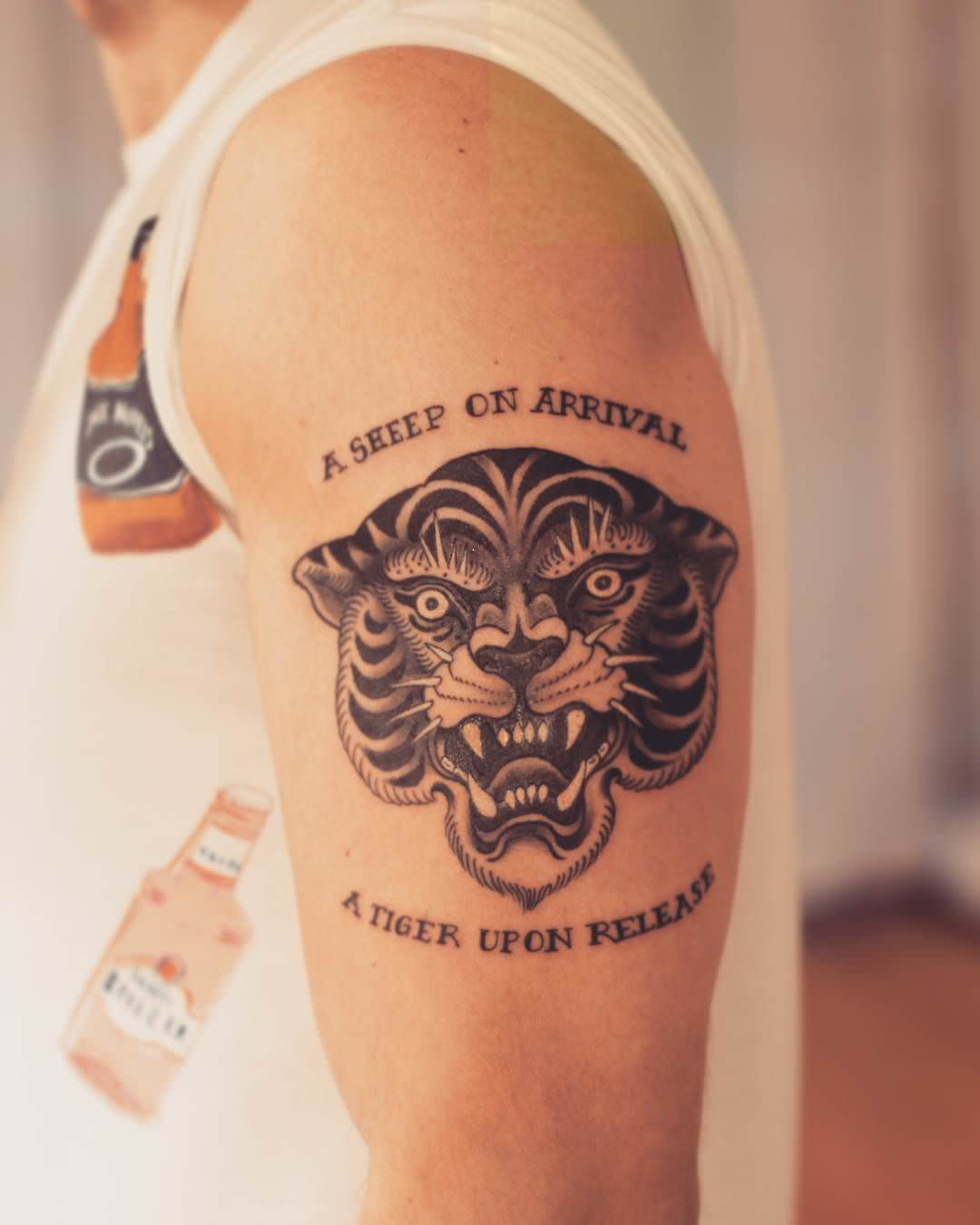 Traditional,Tiger Tattoo,Design