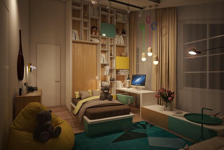 kids bedroom pendent lights