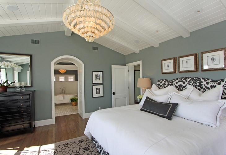 Bedroom Sloping Ceiling Idea