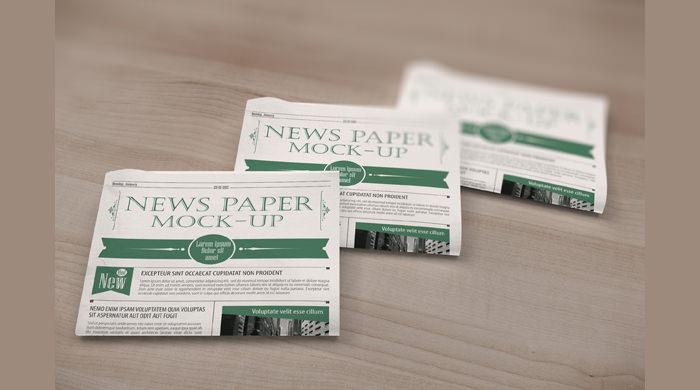 News Paper Mockup