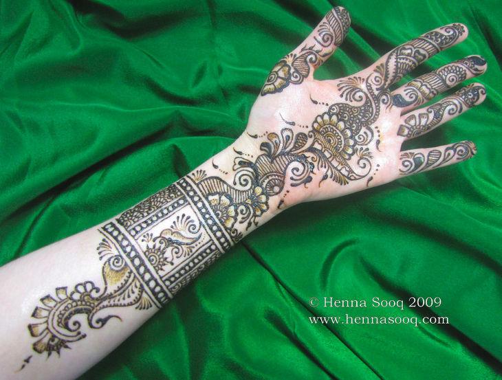 Nice Simple Henna Design