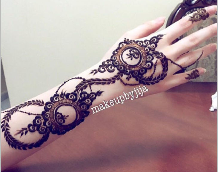 Super Henna Design For Simple Parties
