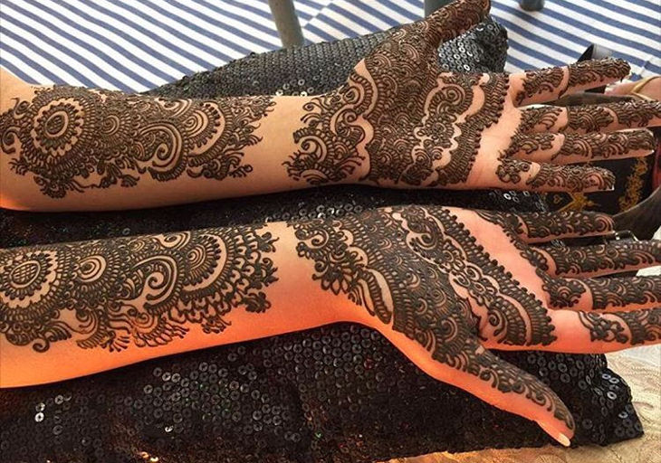 awesome full hand henna design