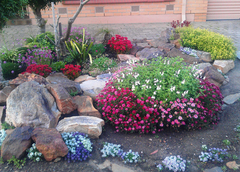 30 rock garden designs garden designs design trends for Rockery designs for small gardens