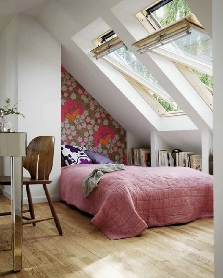 great small contemporary bedroom design