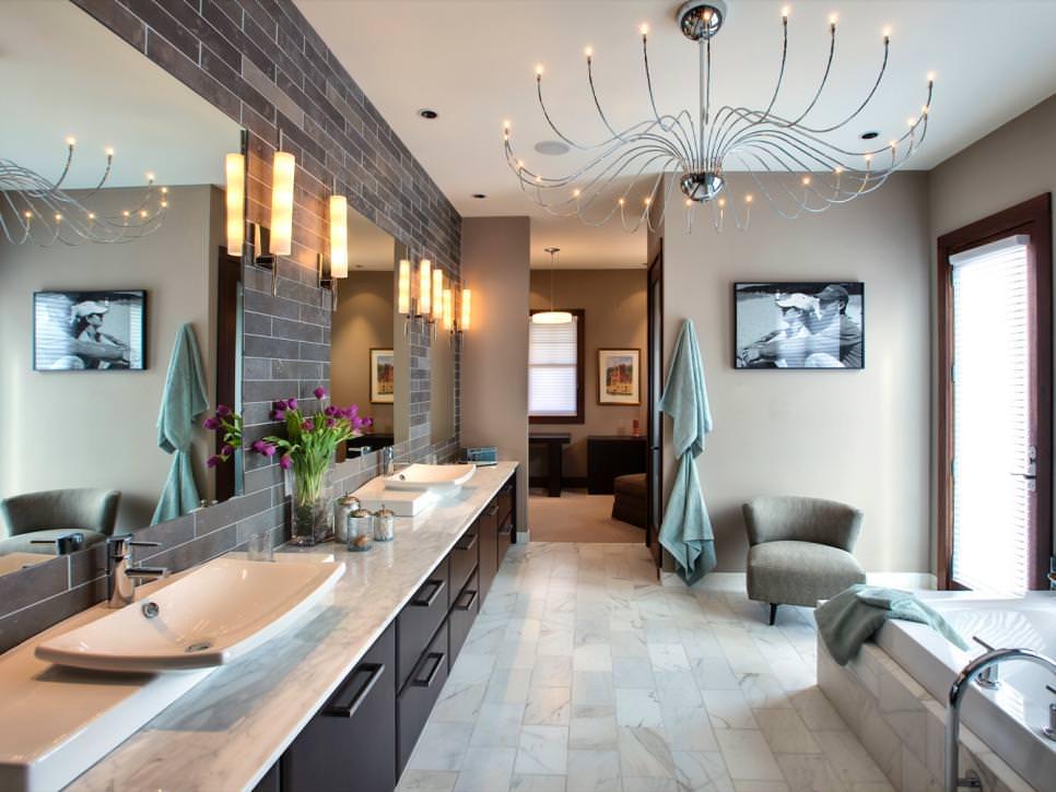 New Murray Feiss Lighting 3 Light Casual Luxury Bath Vanity VS13703