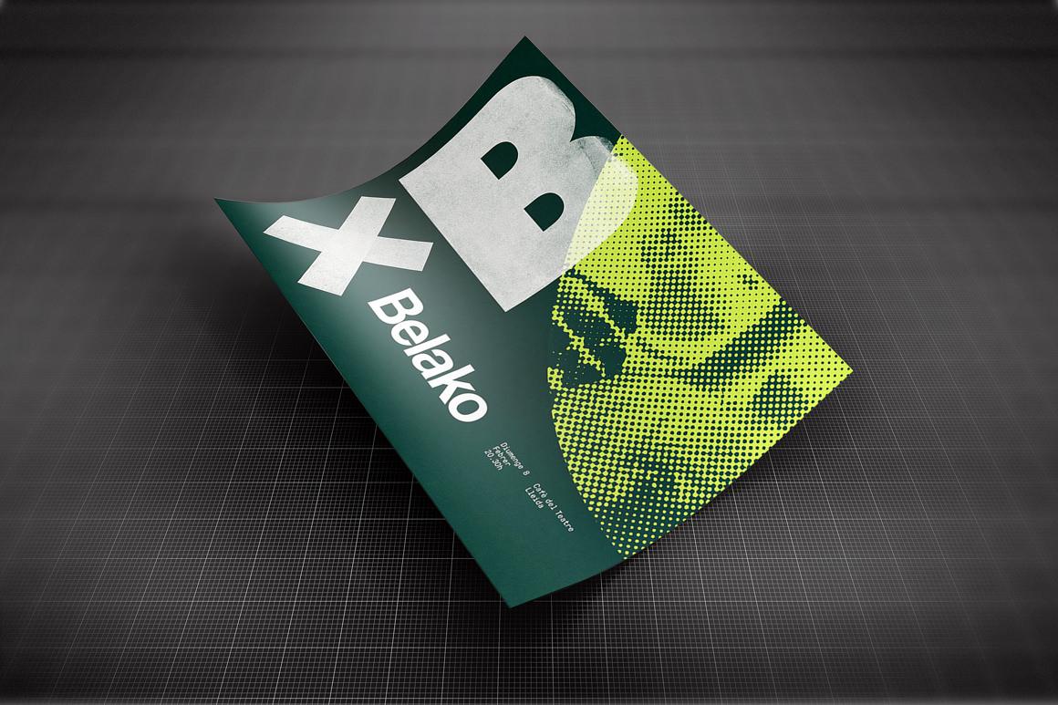Creative A4 Paper Mockup Display