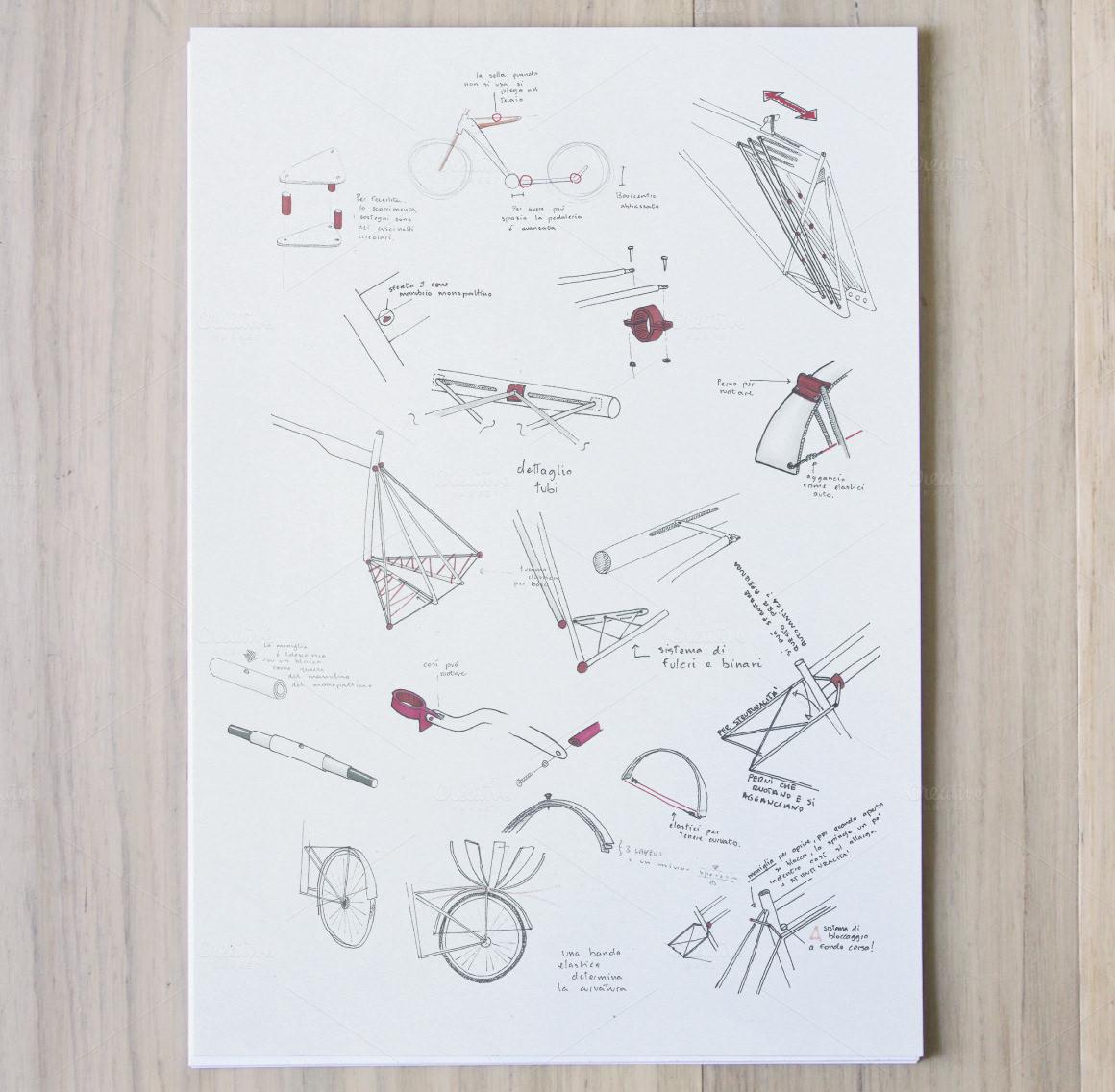 vertical a4 size paper mockup ideas