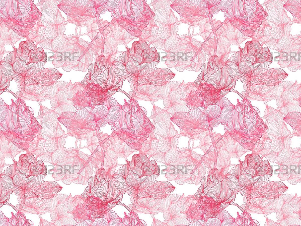 Pink-Flower-Pattern