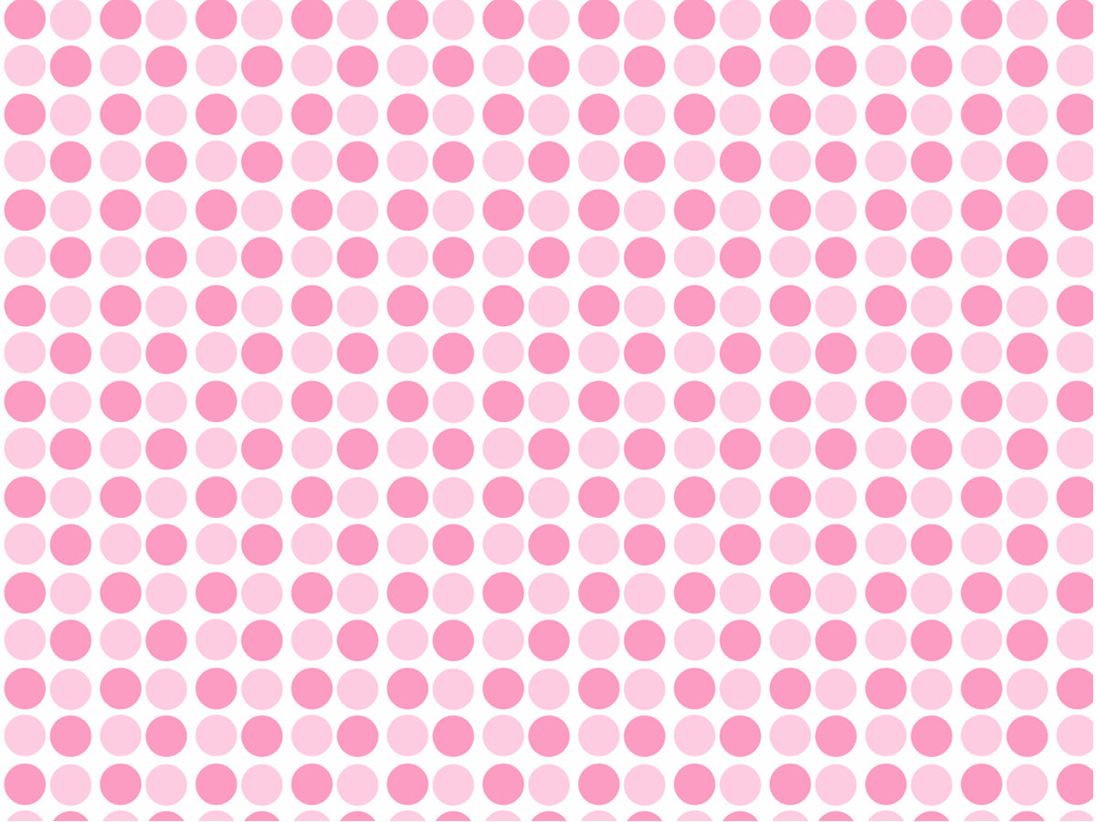pink and white dots patterns
