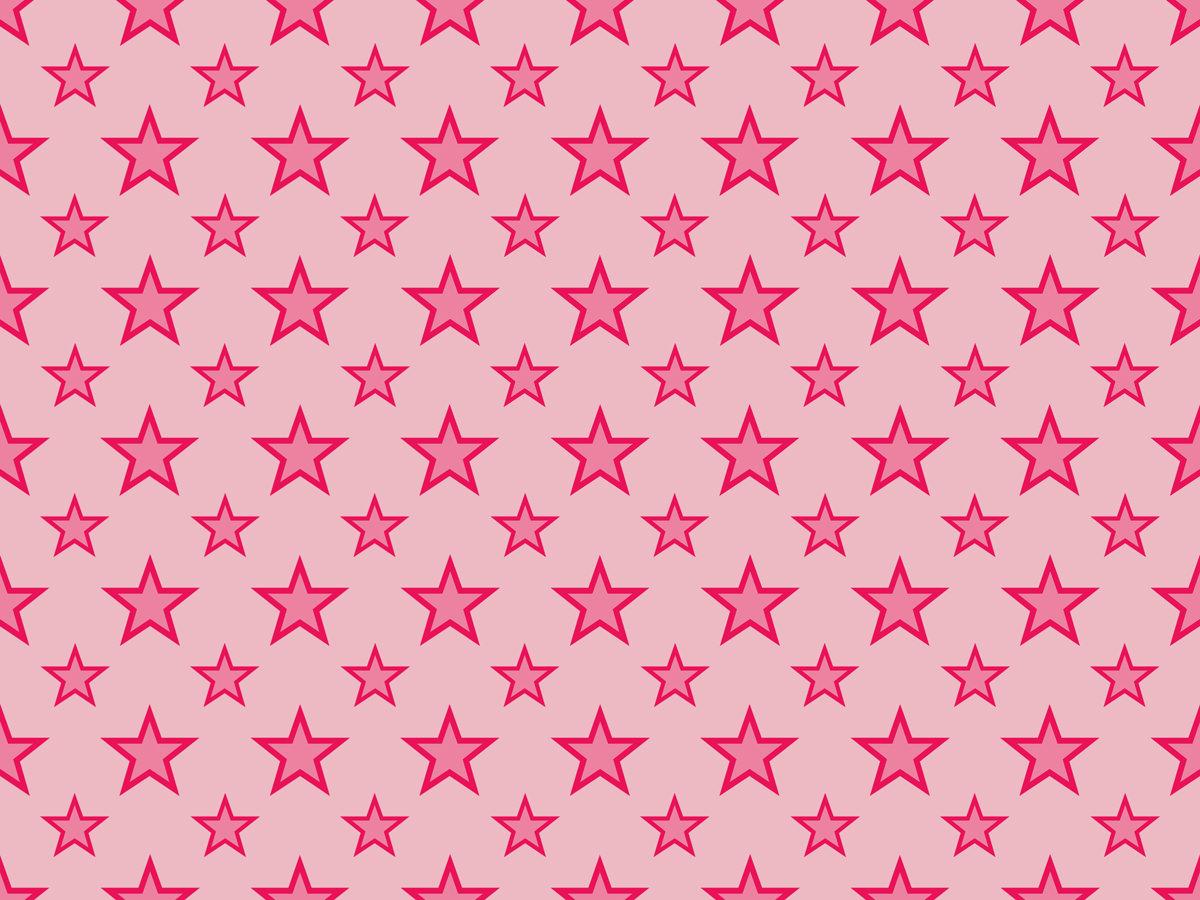 Hot-Pink-Pattern-Stars