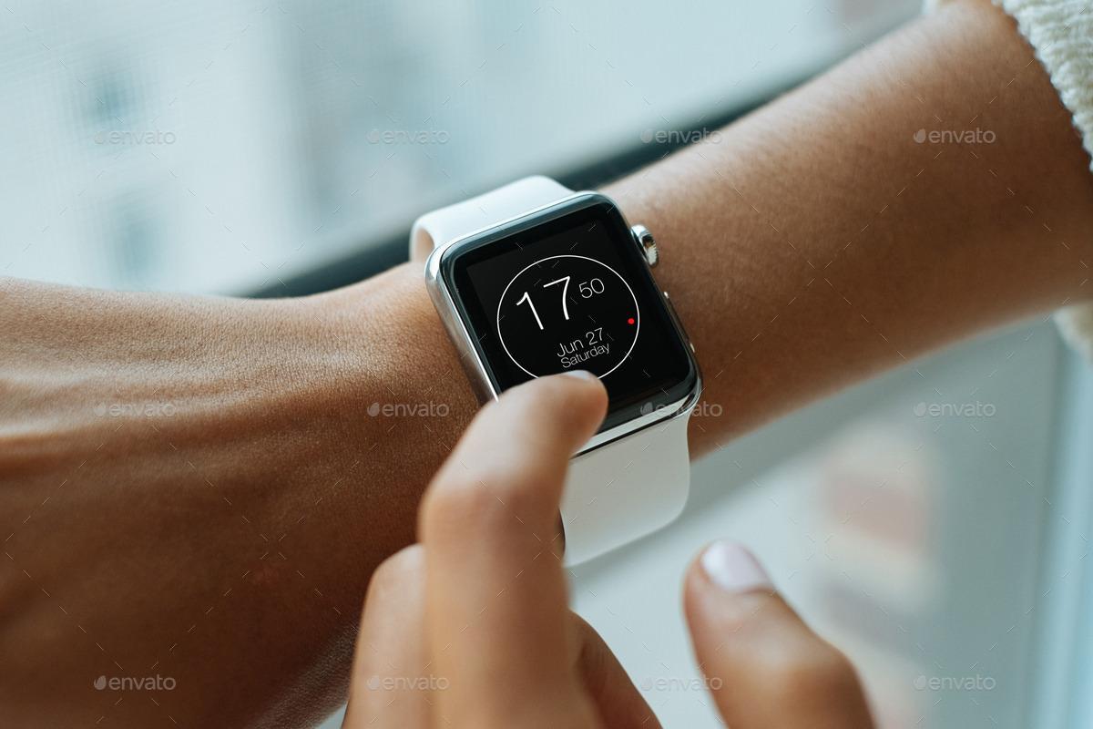 Apple Smart Watch Mockup Ideas