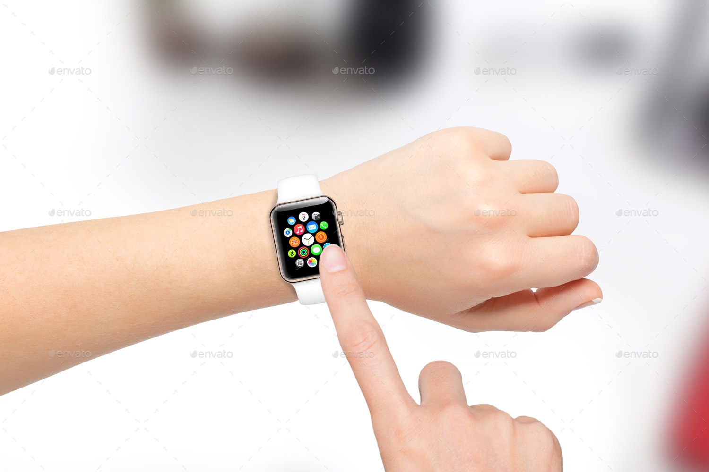 Simple Apple Watch Mockup Ideas