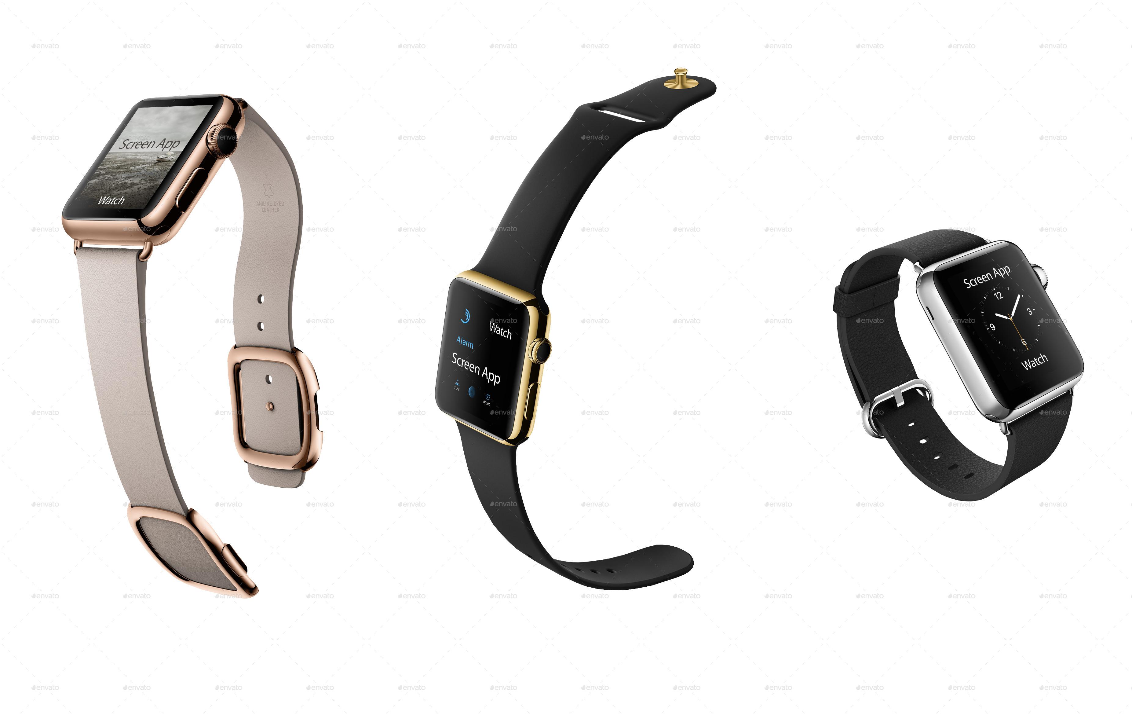 Smart Apple Watch Mockup Ideas