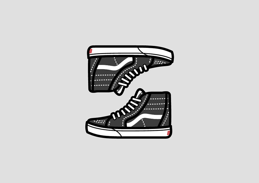 canvas shoe logo designs