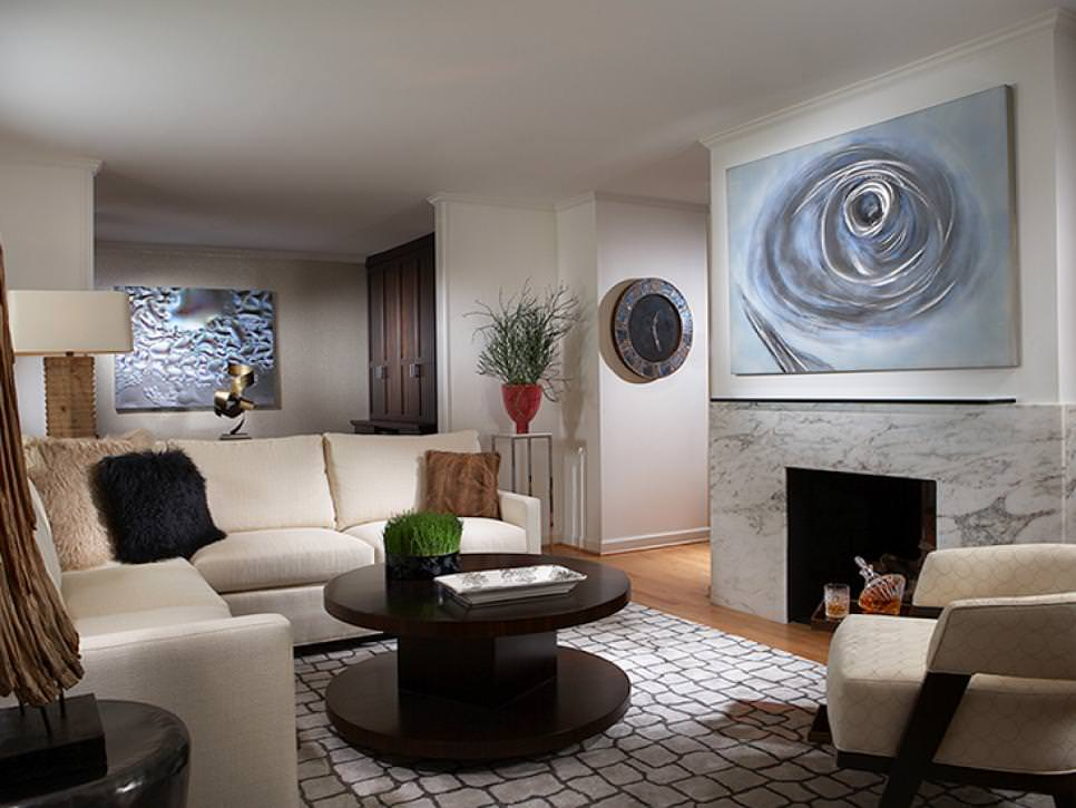 Eye-Catching Candice Olson Living Room