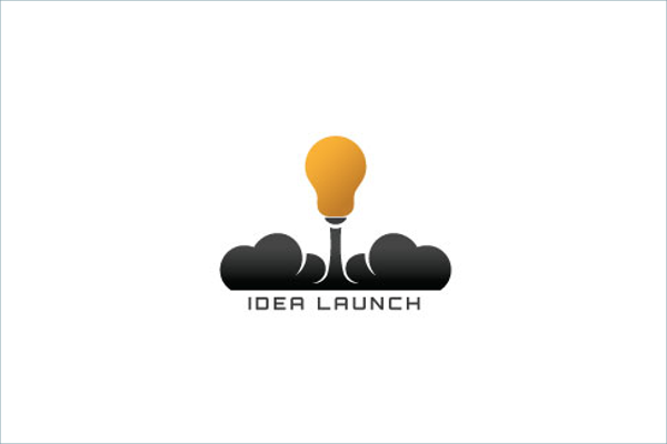 Idea Launch Logo Design