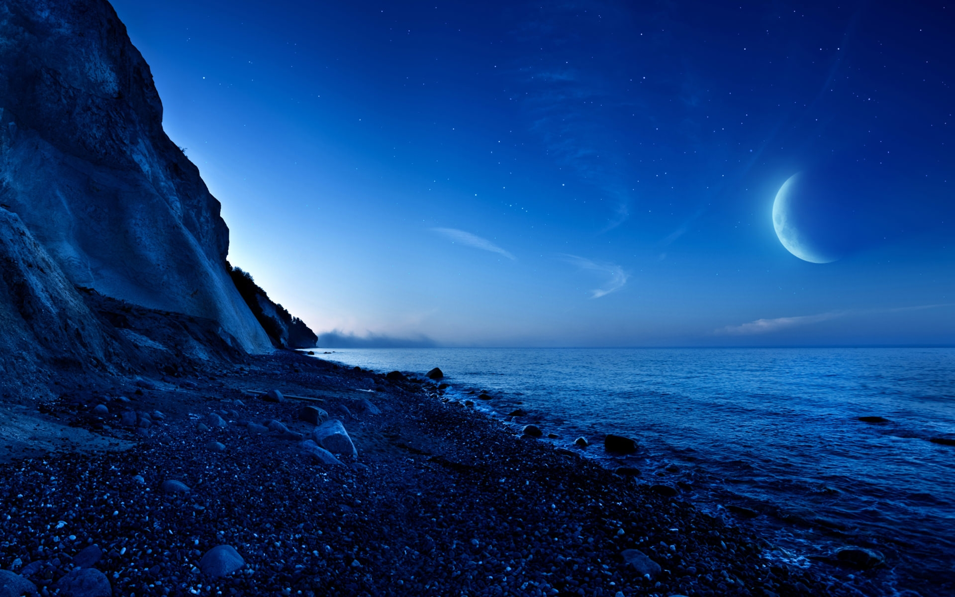 nightfall_mountain_sea_moon-wide
