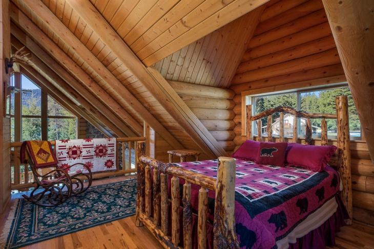Wooden Rustic interiors Idea