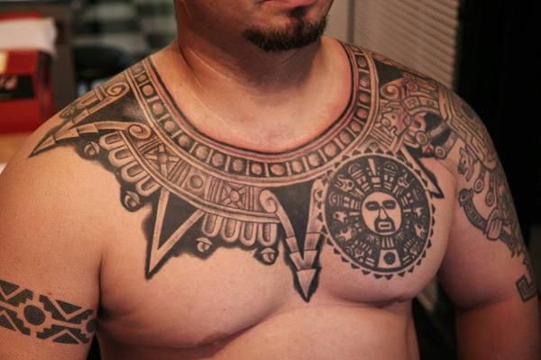 Samoan Polynesian Tattoo Design