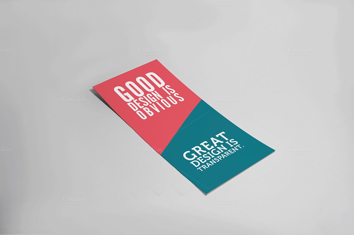 Flat High Quality Flyer Mockups