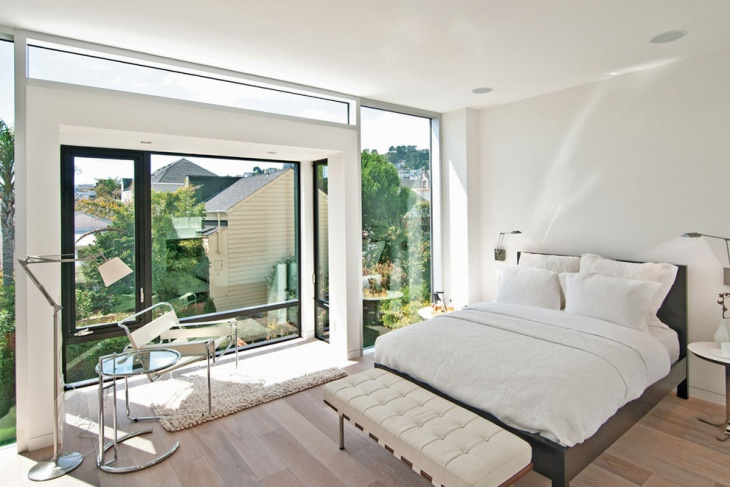 Classy Platform Bed Decor