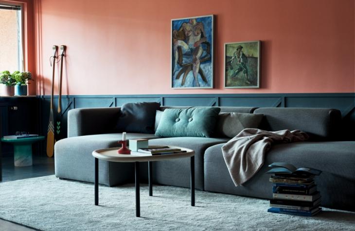 classy contemporary living room