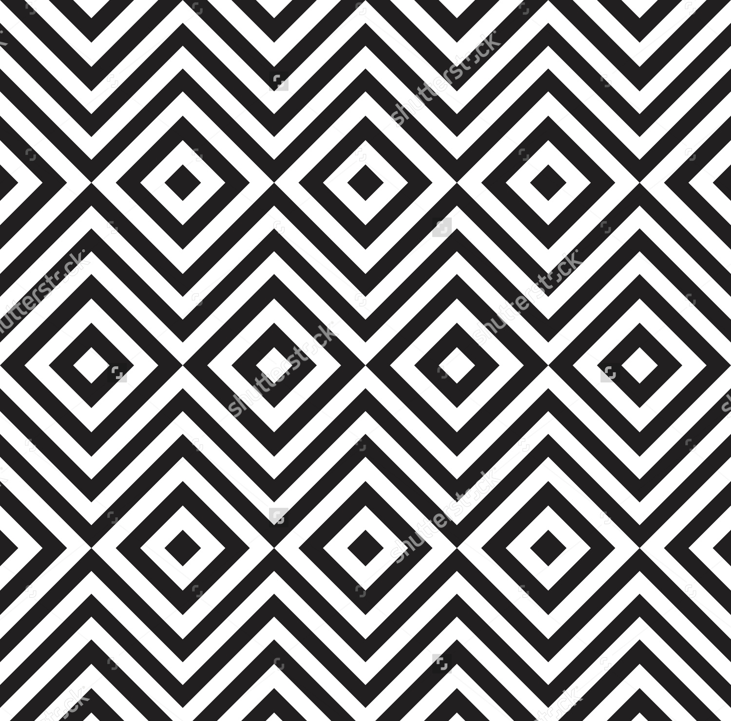 Black and white Chevron background