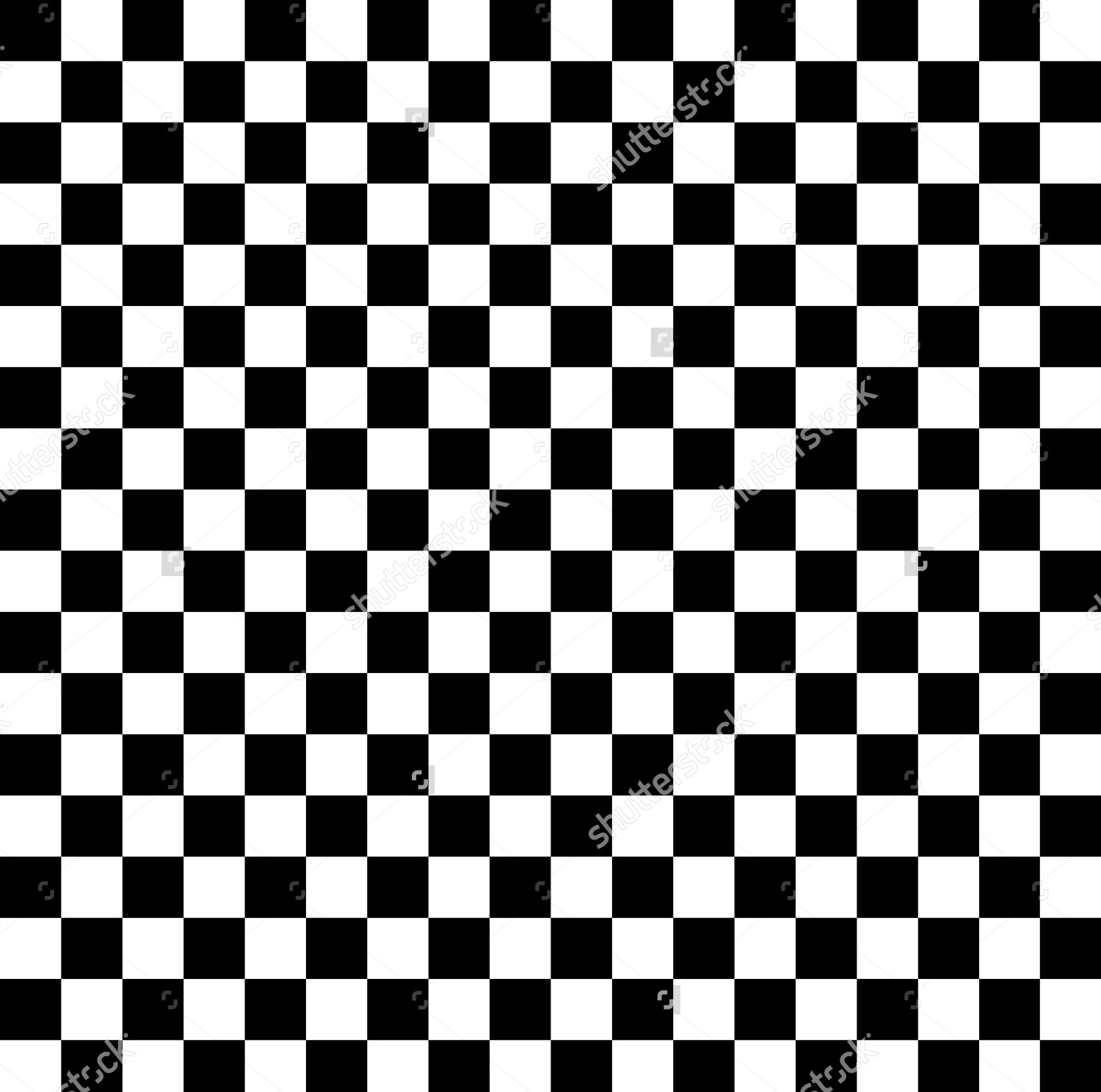Checkered Black And White Background