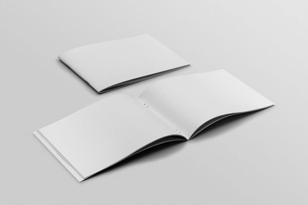 Photo Realistic A4 Brochure Mockup