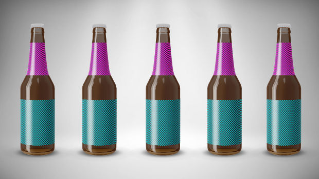 pack of beer bottle mockup ideas