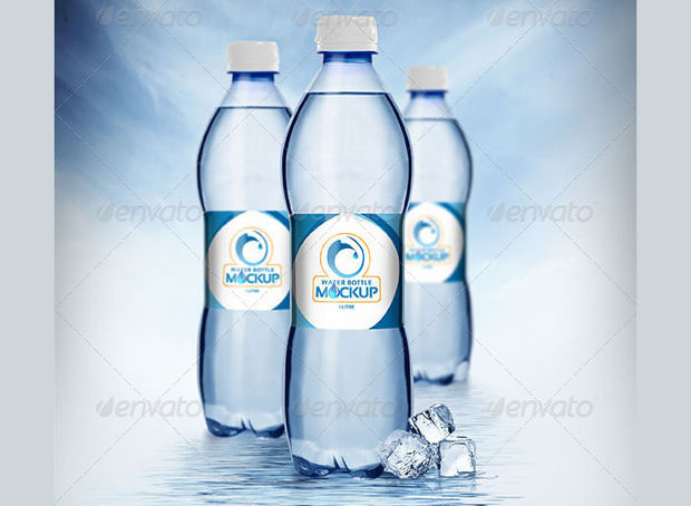 Classic Water Bottle Mockup Ideas