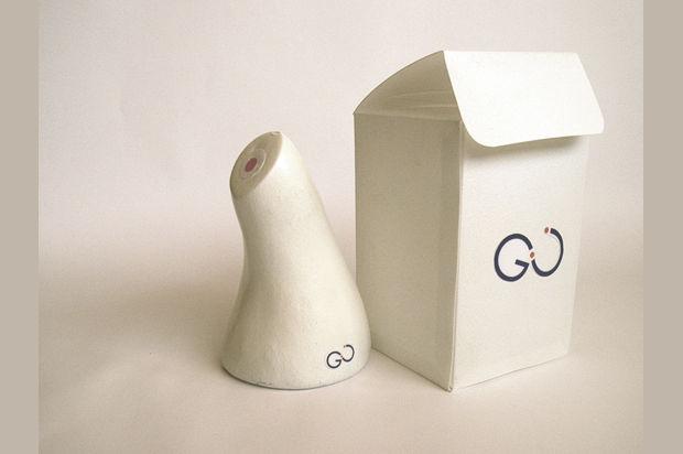 GU Perfume Bottle Mockup