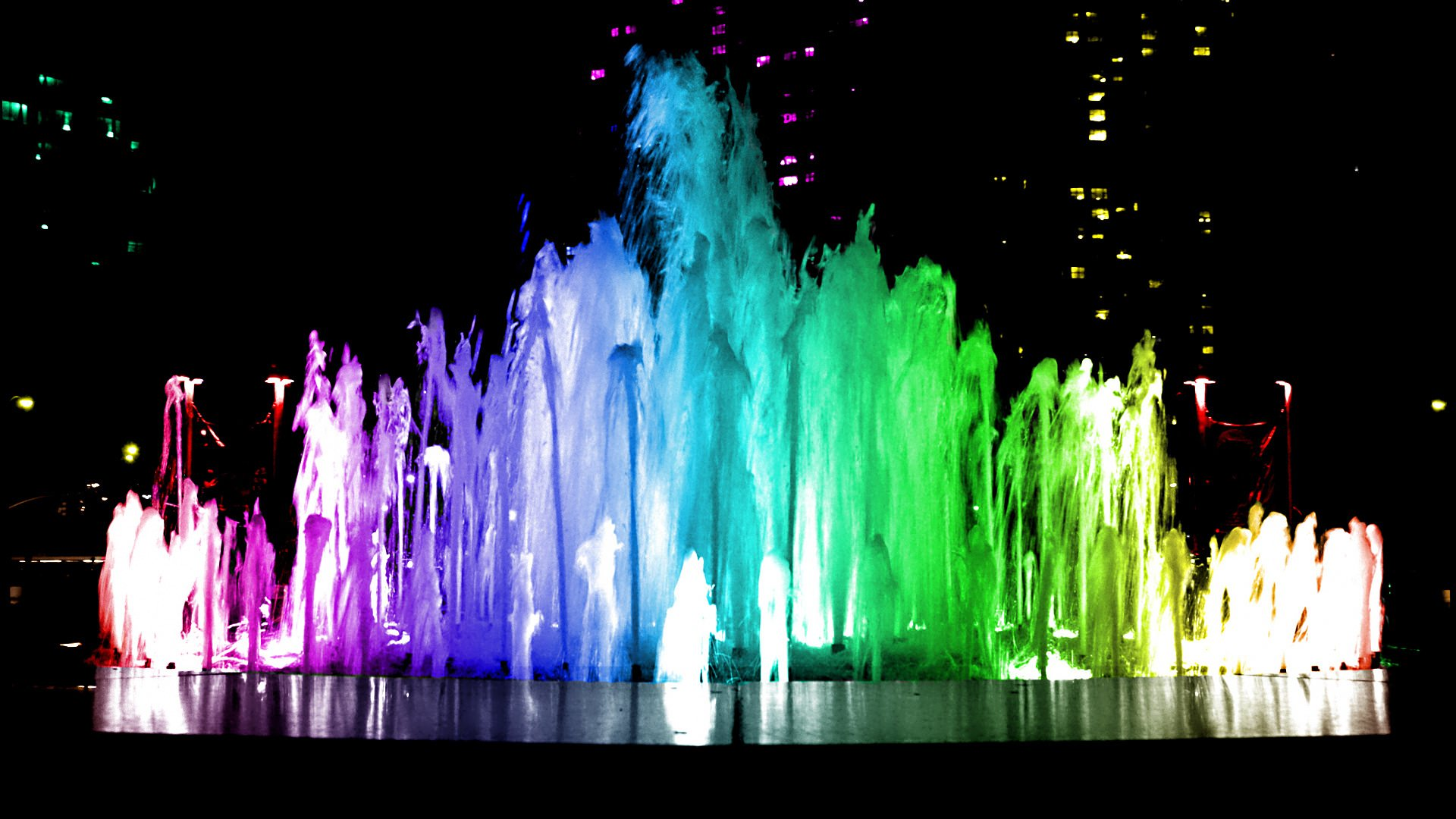 fountain water background