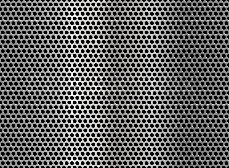 Metallic Net Background