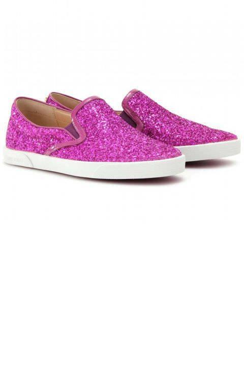 Glitter Womens Designer Sneaker