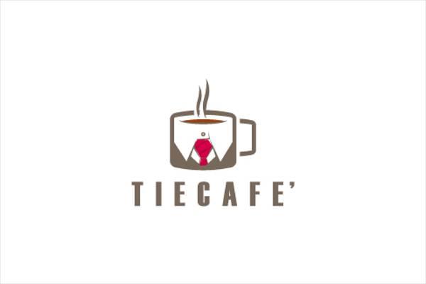 Tie Cafe Logo Design