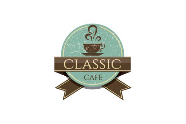 Vintage Logo Design for Coffee Shop