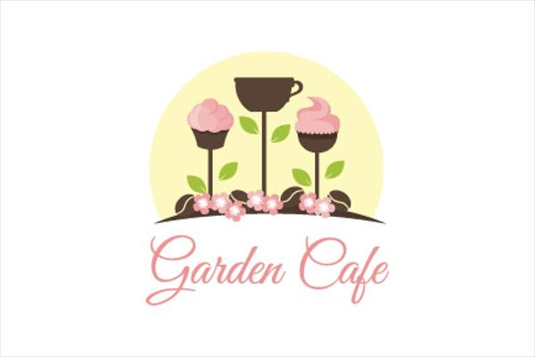 Cafe Garden Logo Design