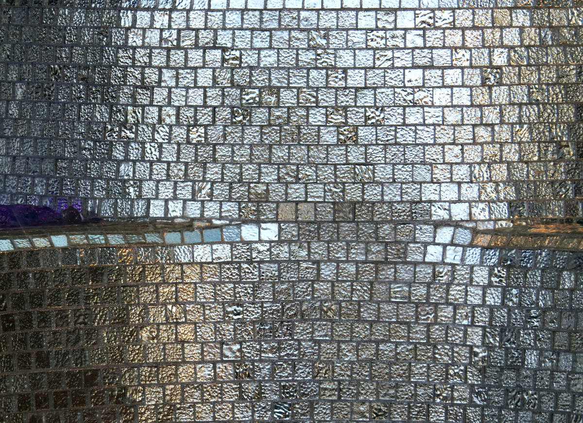 tiles of glass texture