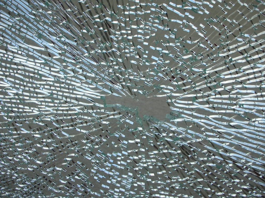 shattred glass texture