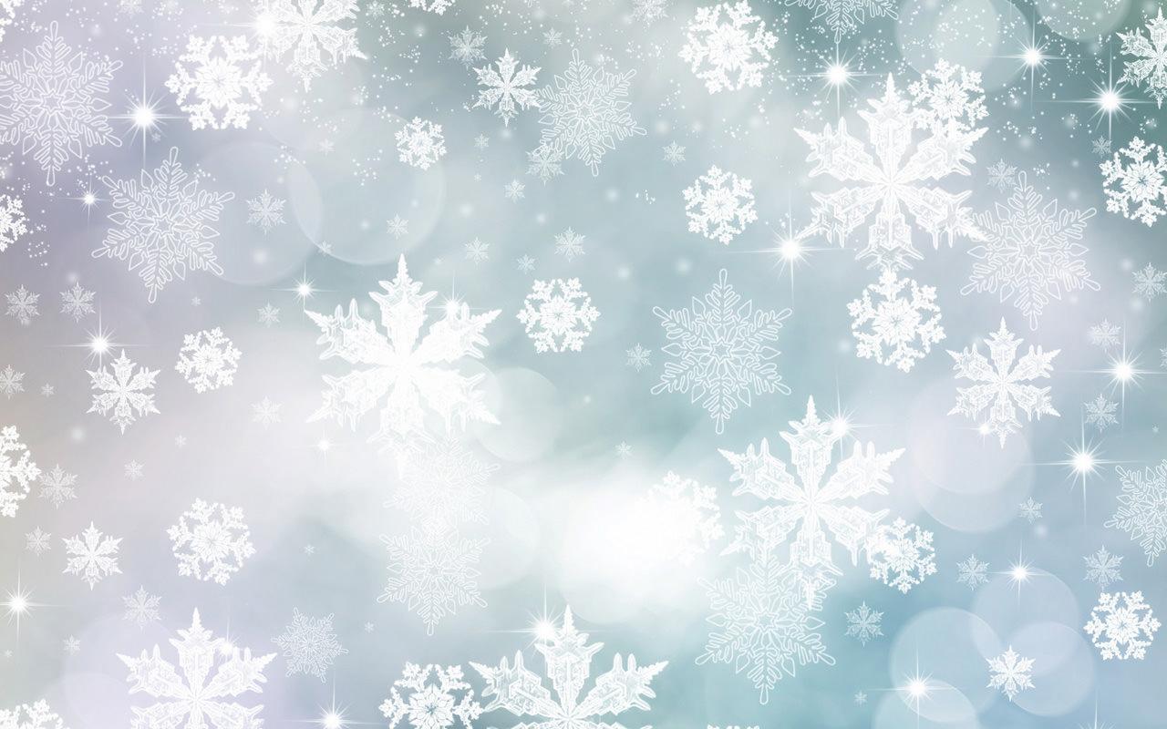 snow flakes texture