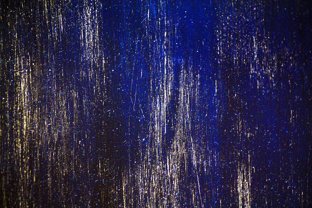 Blue Black Scratched Texture