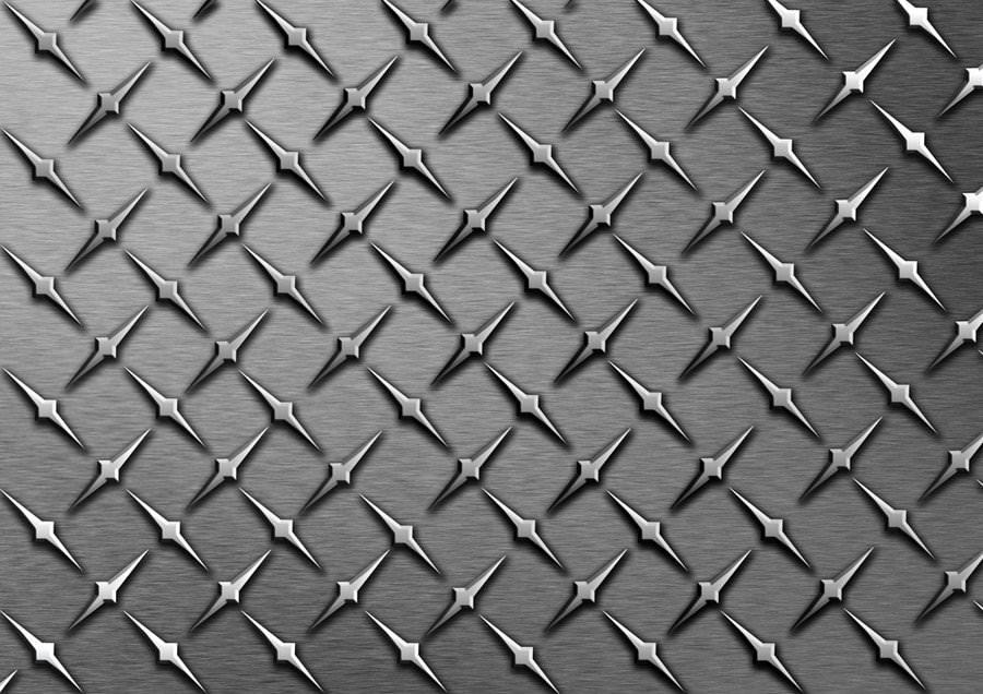 Elegant Diamond Plate Texture