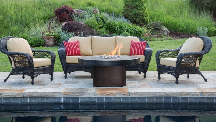 Modern Outdoor Fire Pit Design