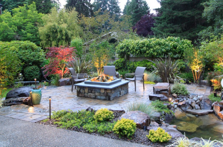 Traditional Outdoor Fire Pit Design