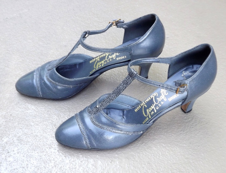 Vintage High Heel Shoes Idea