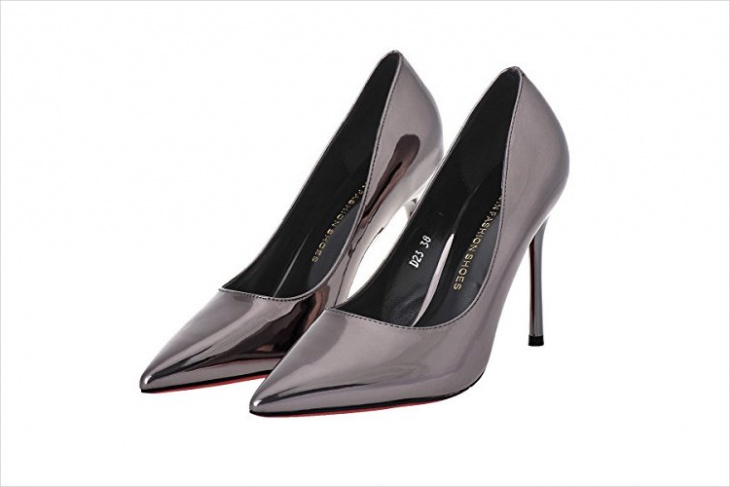high heel pump shoes design