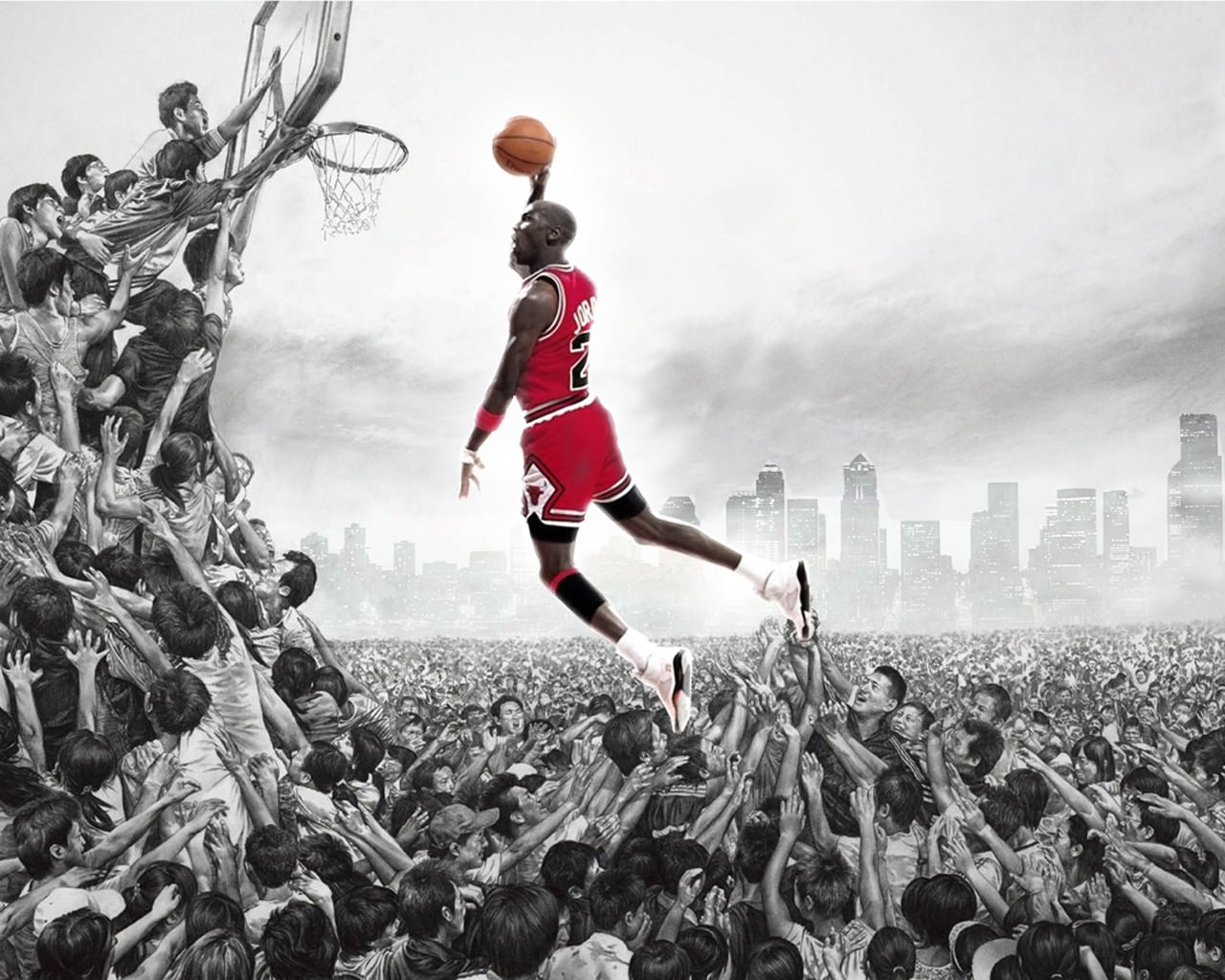 Awesome Dunk Background
