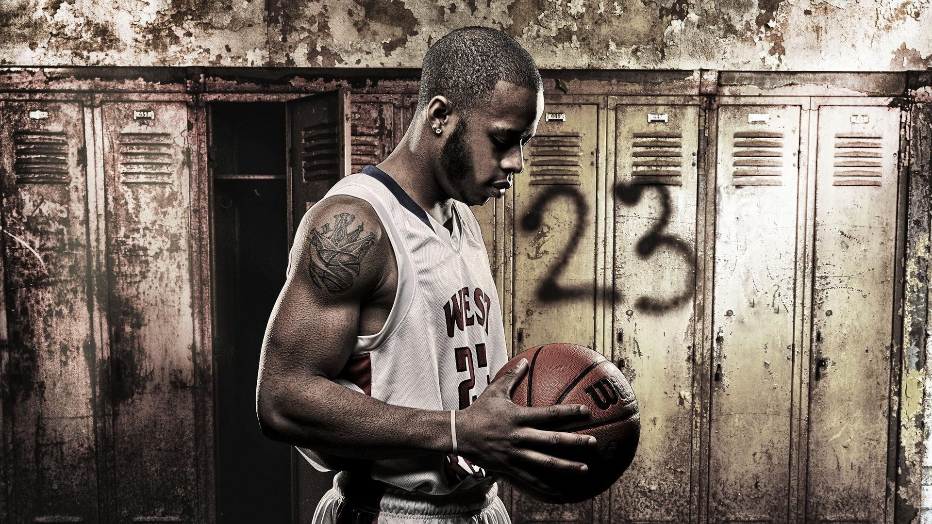 Bassketball Terrance Hall Background